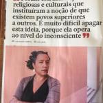 Entrevista à socióloga e ativista Cristina Roldão