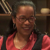 A Jornalista cabo-verdiana Maria de Lourdes de Jesus, premiada em Itália.