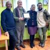 """""""Premio Amílcar Cabral"""" indetto da Tabanka onlus, XII edizione 2018, conferito al primo Console di Capo Verde in Italia, Dr. Piergiorgio Gilli"""